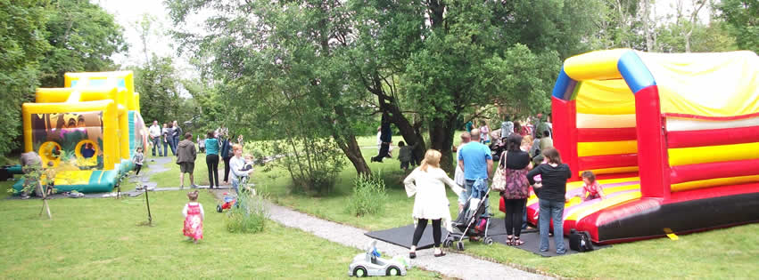 Family Fun Day in Gardens at Benwiskin Centre